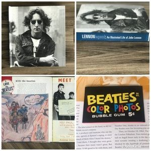 2003 John Lennon Book Illustrated Book